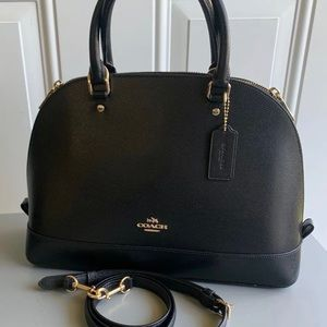 EUC Coach Large Sierra Satchel Crossbody